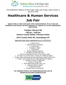 Flyer 2014 Feb Job Fair