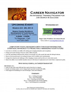 Career Navigator Seneca March 2014 1