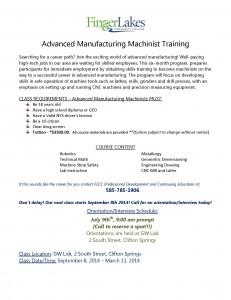 2014-2015 AMM class announcement