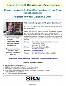 Seneca County SB Information Session Fall 2014 (2)
