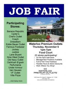 Job Fair Flyer 11-6-14