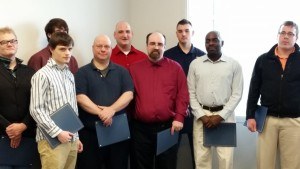 Mechatronics Graduates pictured above.