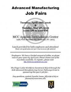 2016 Job Fair Spring Job Fair_MCC
